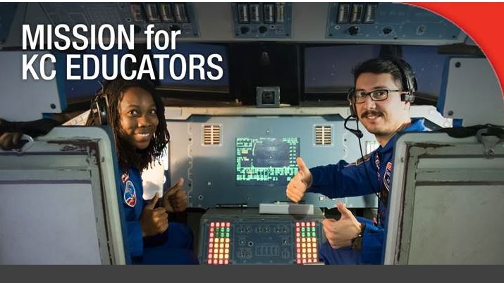 Space camp educators